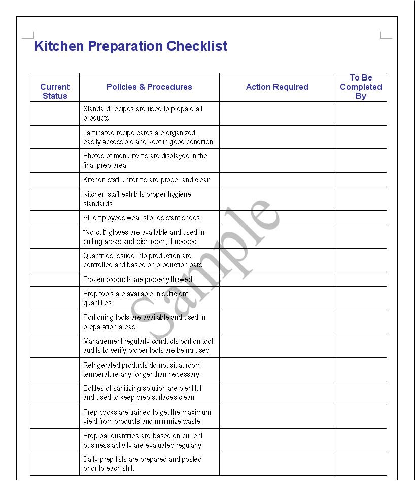 Restaurant Kitchen Manager Job Description: 49 Hotel Tools